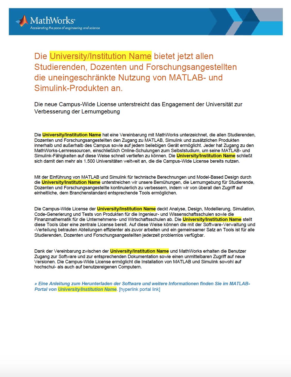 Campus-Pressemitteilung