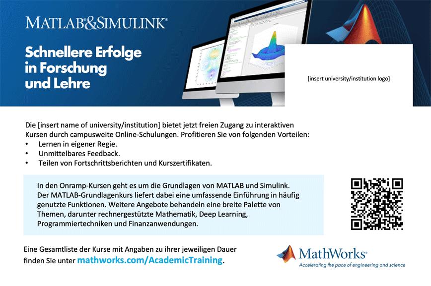 Campusweite Lizenz Onlineschulung Postkartenvorlage 4 x 6