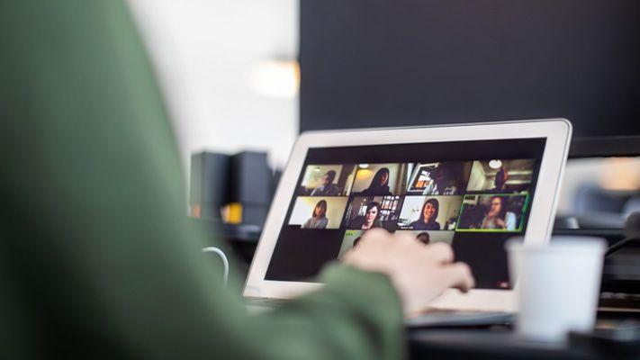 Online Veranstaltung, virtuelles Netzworking