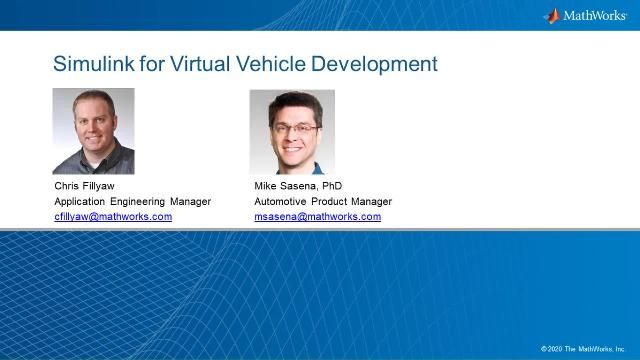 Hear MathWorks engineers discuss use cases of virtual vehicle simulation and how Simulink platform enables the development and execution of such large-scale models. New Simulink capabilities and relevant model best practices will also be introduced.