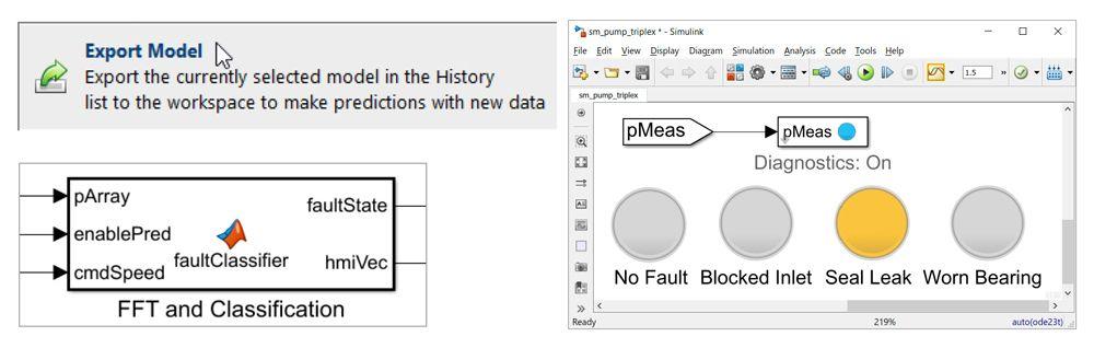 Abbildung 9: Exportieren des genauesten Modells zur Verifikation.