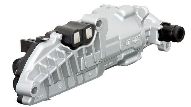 ebm-papst's automotive auxiliary oil pump without a pressure sensor.