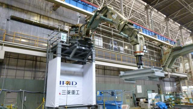 Mitsubishi Heavy Industries Develops Robotic Arm for Removing Nuclear Fuel Debris