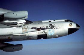The black X-43A