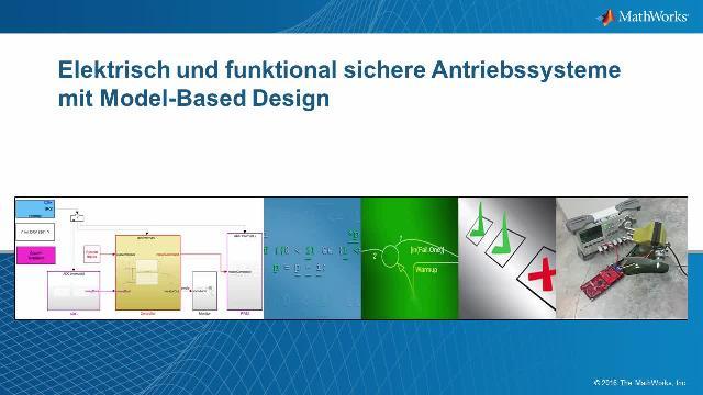 Elektrisch und funktional sichere Antriebssysteme mit Model-Based ...