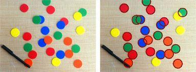 In Bildern kreisförmige Objekte zählen