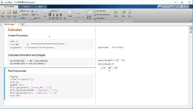 Lernen Sie, wie man mit MATLAB und der Symbolic Math Toolbox Differenzial- und Integralrechnung durchführt.