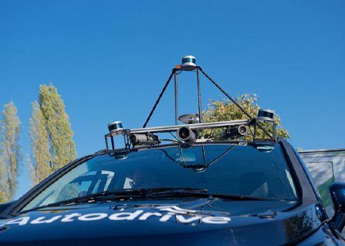 Mobiler LiDAR-Sensor.