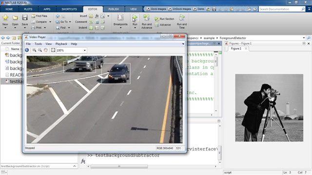 OpenCV-Beispiele in MATLAB ausführen
