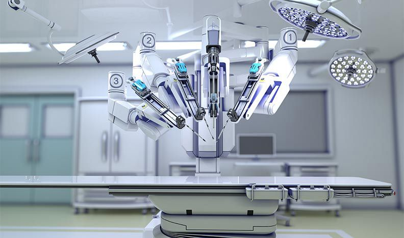 A surgical robot is a complex multidomain medical device.