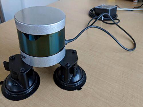 Live-Streaming von LiDAR-Daten von Velodyne-Sensoren