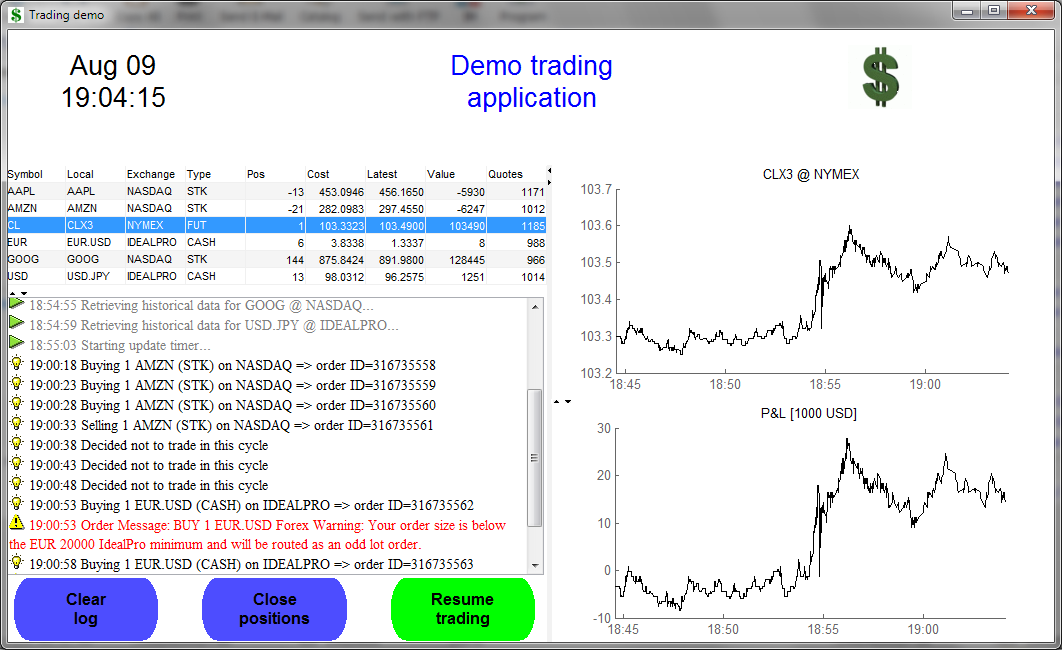 Realtime trading with Matlab presentation files - File Exchange - MATLAB Central