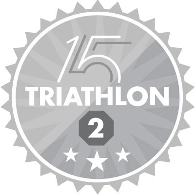 Triathlon 2nd Place