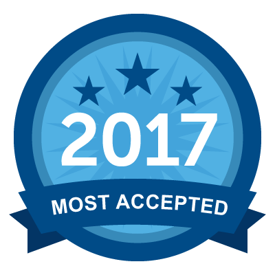 Most Accepted 2017