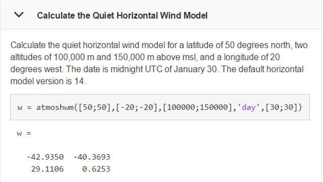 Berechnen Sie Windmodelle für konkrete Zeitpunkte und Standorte.
