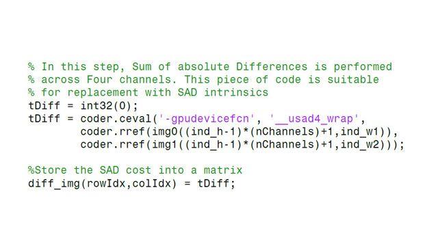 Einbinden von vorhandenem CUDA-Code in neu erzeugten Code.
