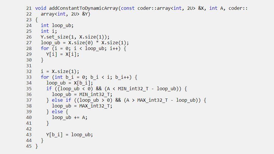 Dynamisch zugewiesene Arrays an generierte Funktionen übergeben