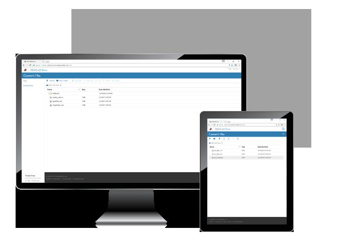 Geräte- und produktübergreifende Verwaltung Ihrer Dateien in der Cloud