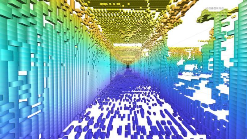 Erstellen Sie Belegungsraster in 2D und 3D.