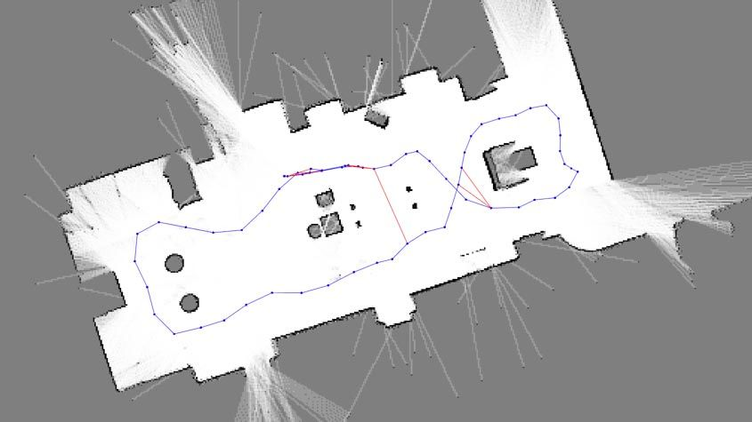 Implementieren Sie individuell erstellbare SLAM-Lösungen (Simultaneous Localization and Mapping).