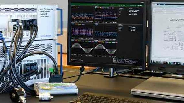 Speedgoat-Hardware für Rapid Prototyping und Hardware-in-the-Loop-Simulationen.