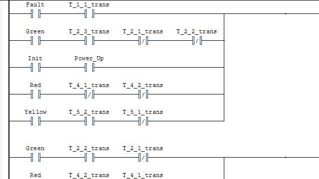 Erzeugung eines Kontaktplans und Import in eine IDE.