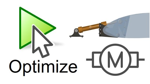 Verwenden Sie Optimierungsalgorithmen, um das Simscape-Eletrical-Modell eines Mechatroniksystems zu optimieren und die Systemanforderungen zu erfüllen.