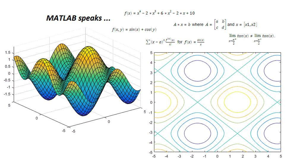 Computational and analytical mathematics using Symbolic Math toolbox in Live Editor.
