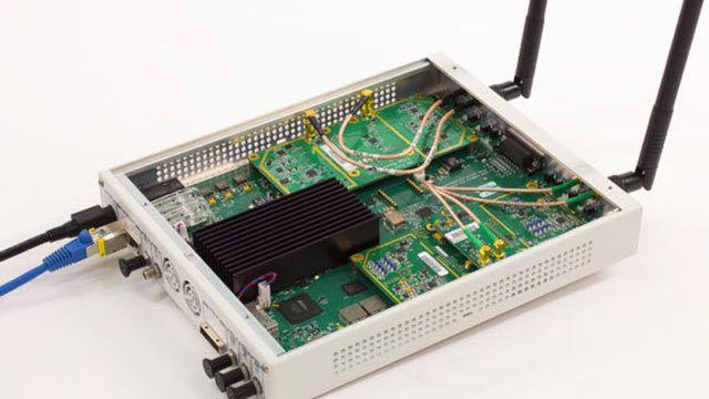 USRP SDR wurde für den Empfang von 802.11 OFDM-Beacon-Frames verwendet.