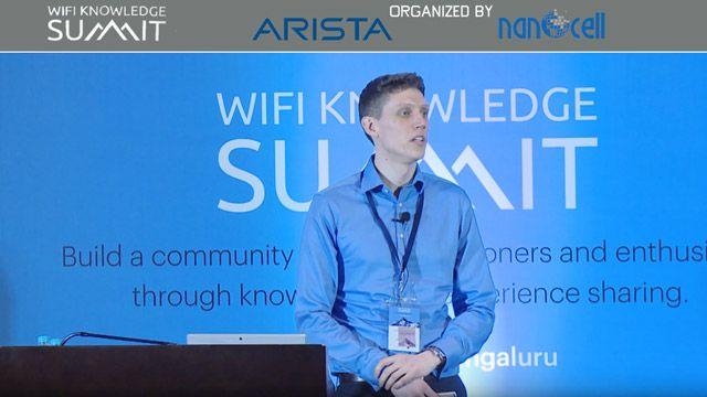 Vortrag von Colin McGuire auf dem WiFi-Wissensgipfel zur Modellierung des IEEE 802.11ax-Standards