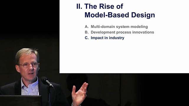 Jack Little, Geschäftsführer und Firmengründer der MathWorks GmbH, spricht über die Vorteile des Model-Based Designs für die Branche und den Bildungssektor.