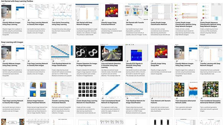 Beispiele aus dem Deep Learning