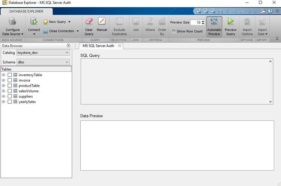 Database Explorer-App