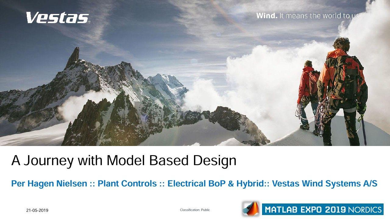 Vestas Lösungen für Hybridkraftwerke: Auf Entdeckungsreise mit Model Based Design