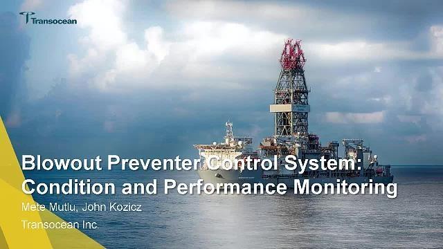 Transocean überwacht die Leistung eines unter Wasser befindlichen Blowout-Preventer-Rohrschiebers in Simscape und verwendet dabei adaptive physikbasierte Modelle, Signalverarbeitung und Edge Analytics.