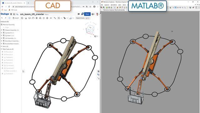 Teleskopbühne, CAD-Import