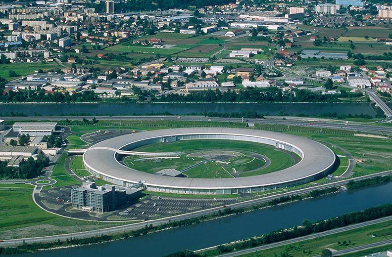 Das Synchrotron von Grenoble