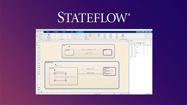 Entdecken Sie bei der schrittweisen Vorstellung eines Beispiels die Grundlagen von Stateflow.  Außerdem erfahren Sie, dass Stateflow nur ein Teil des Model-Based Design zur Modellierung, Simulierung, Überprüfung und Implementierung realer Systeme ist.