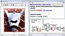 Identify design errors, generate test cases, and verify designs against requirements using Simulink Design Verifier.