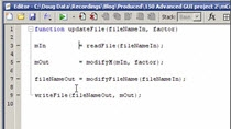 Create a single MATLAB file that runs the low-level functions.