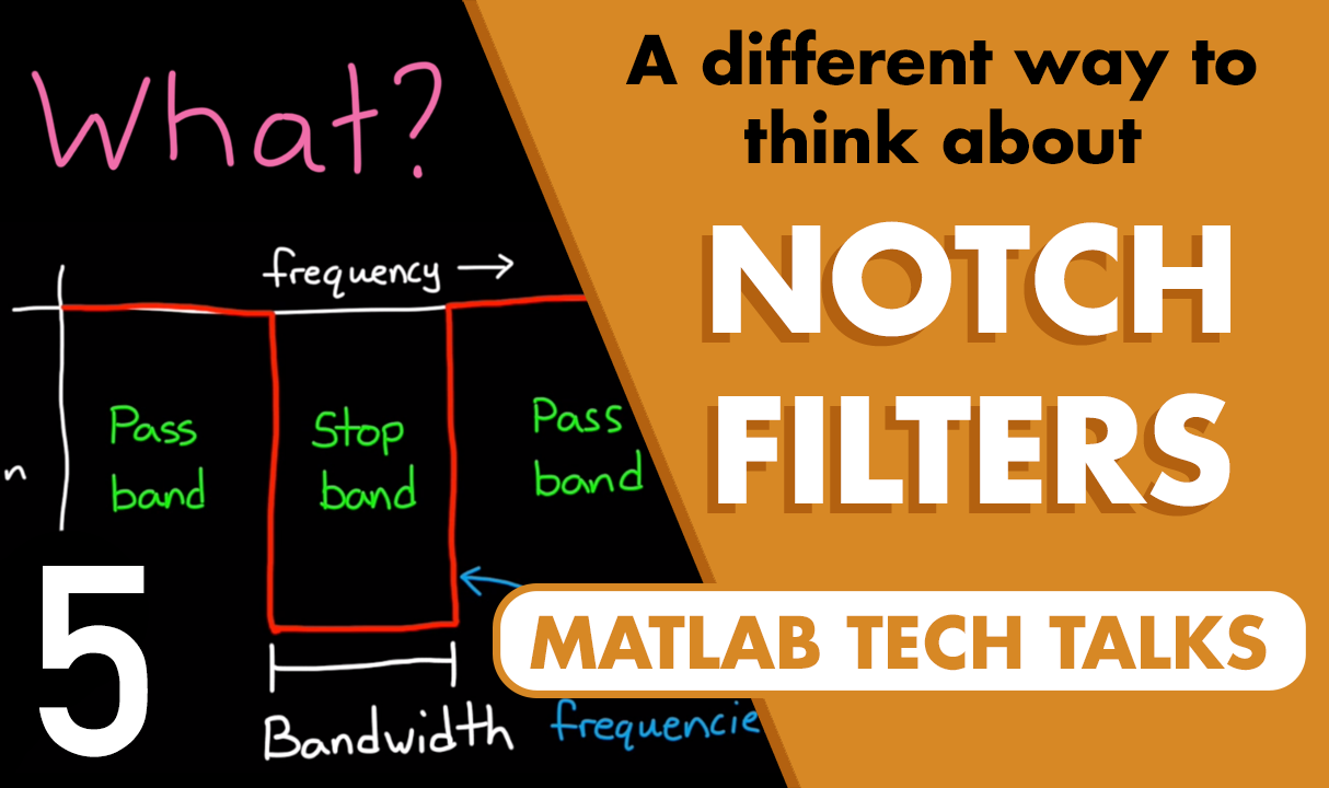 This video describes a second-order notch filter as an inverted oscillator. This approach provides a little insight into how each of the terms in the transfer function contributes to the overall shape and location of the notch.