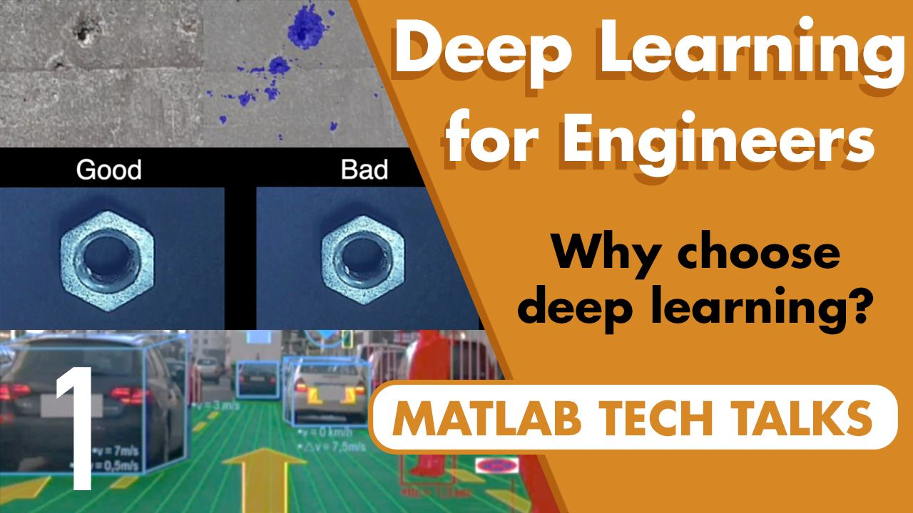 This video introduces deep learning from the perspective of solving engineering problems. Learn what it is, what it's well-suited for, and why it can work when traditional methods fall short.