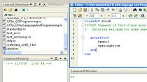 Design classes by defining properties, methods, and events in a class definition file.