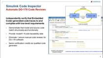 In part 8 of this webinar series, we discuss the use of Simulink Code Inspector to automate source code reviews.