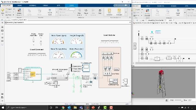 Legacy PLC code is imported into Simulink for testing and validation purposes.