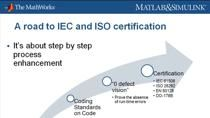 IEC 61508 and ISO 26262 certification for embedded software describes certain aspects of safety related to code verification. Embedded software engineers, project managers, and quality assurance managers are involved in the process of matching safety