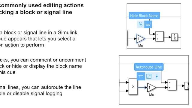 Erfahren Sie mehr darüber, wie Sie mit den neuesten Funktionen in Simulink® R2016a noch schneller arbeiten können und noch produktiver werden.