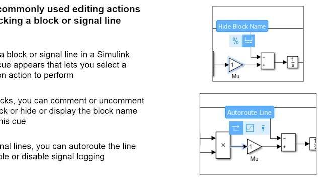 Erfahren Sie mehr darüber, wie Sie mit den neuesten Funktionen in Simulink R2016a noch schneller arbeiten können und noch produktiver werden.