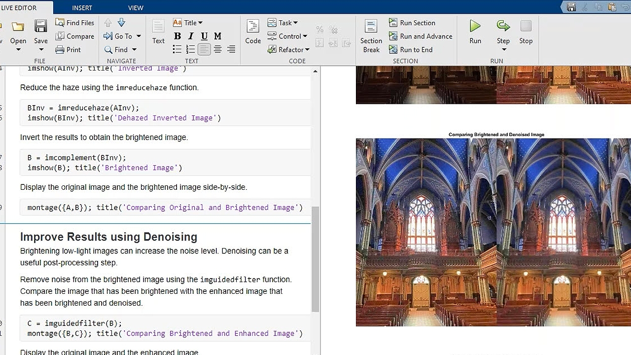 Perform image processing, analysis, and algorithm development using Image Processing Toolbox.