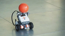 See students compete to develop a Simulink controller for LEGO MINDSTORMS NXT robots to navigate a course in the shortest time possible.
